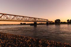 Eisenbahnbrücke Duisburg