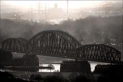 Eisenbahnbrücke Duisburg-Baerl