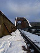 Eisenbahnbrücke in Corvey / Höxter