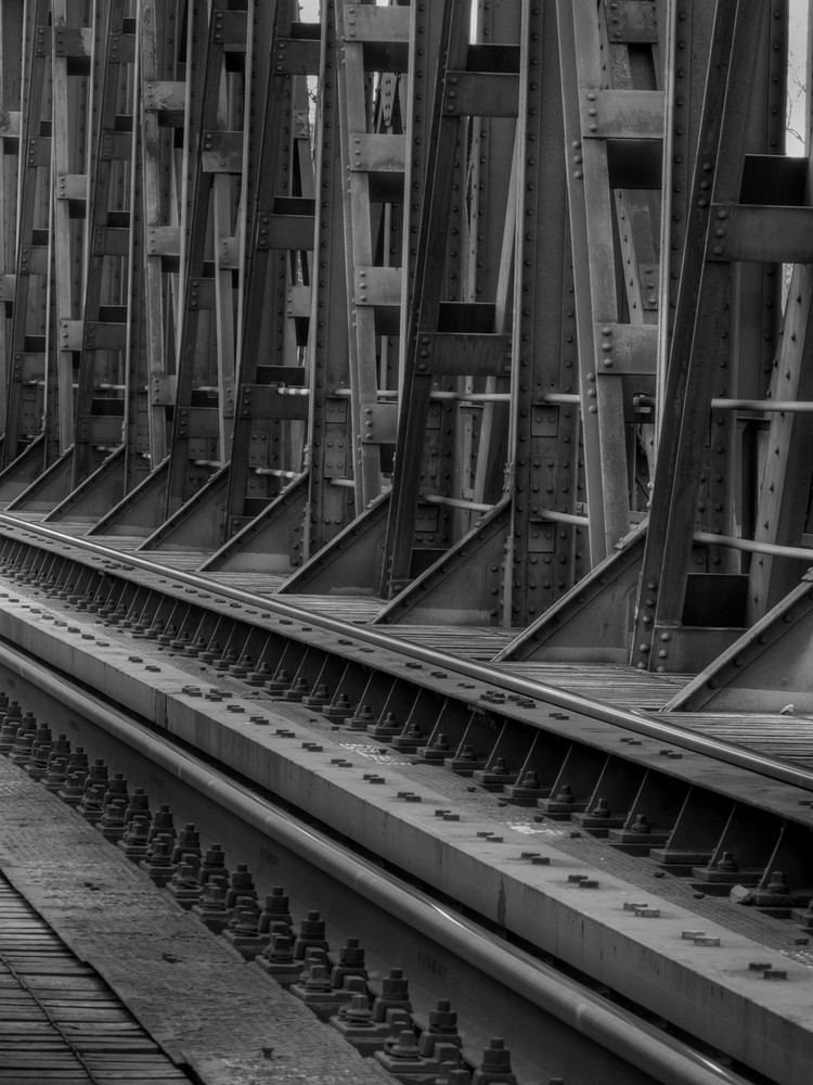 Eisenbahnbrücke in Datteln