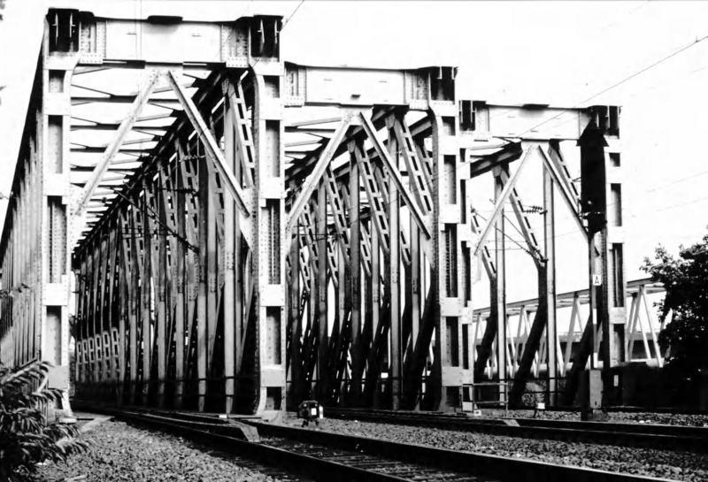 Eisenbahnbrücke in Herne