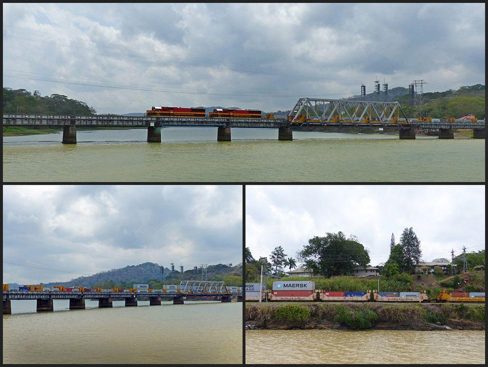 Eisenbahnbrücke Rio Chagres