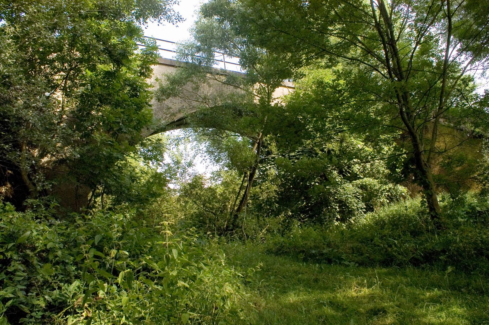 Eisenbahnbrücke über die Lumda