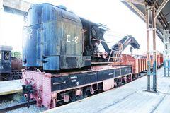 Eisenbahndrehkran in Kuba