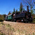 Eisenbahnfahrt  Wie anno Dazumal
