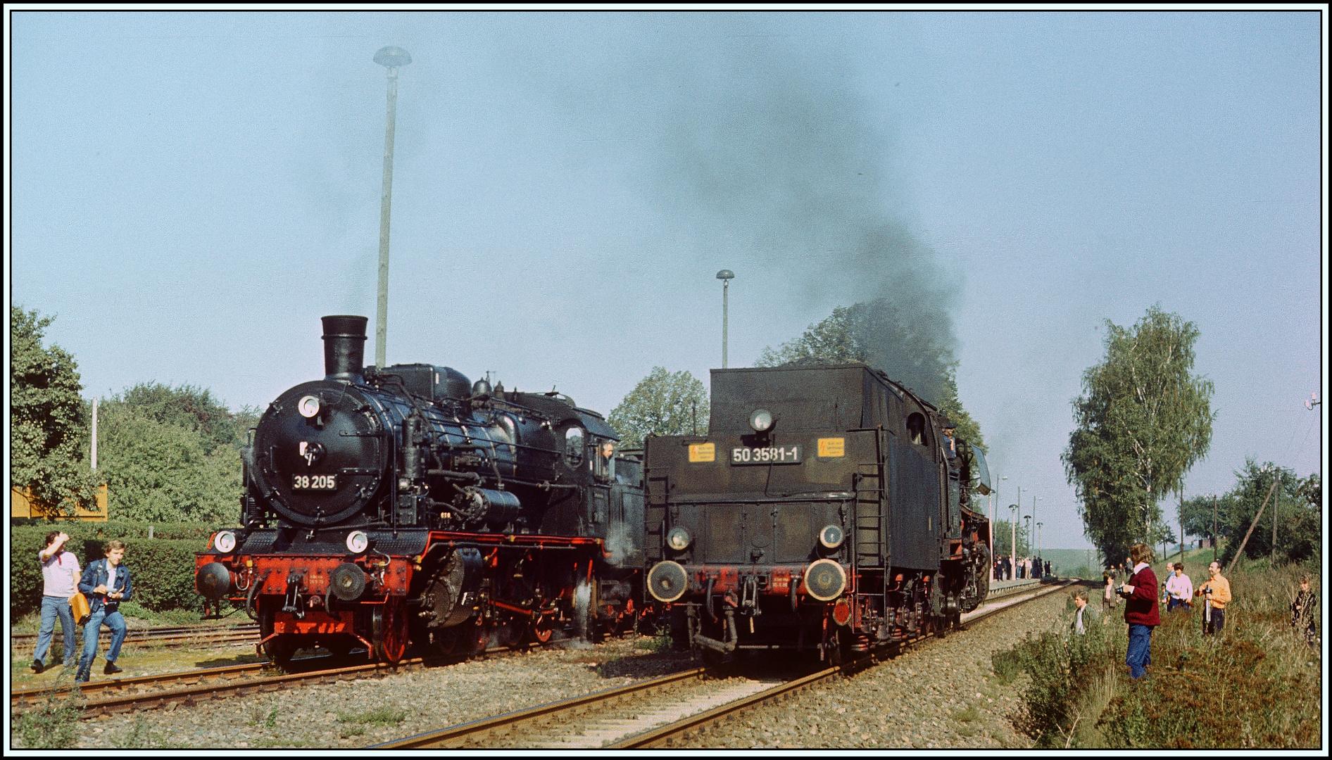 Eisenbahnfreunde und Sonderfahrten im Reichsbahnland - 1