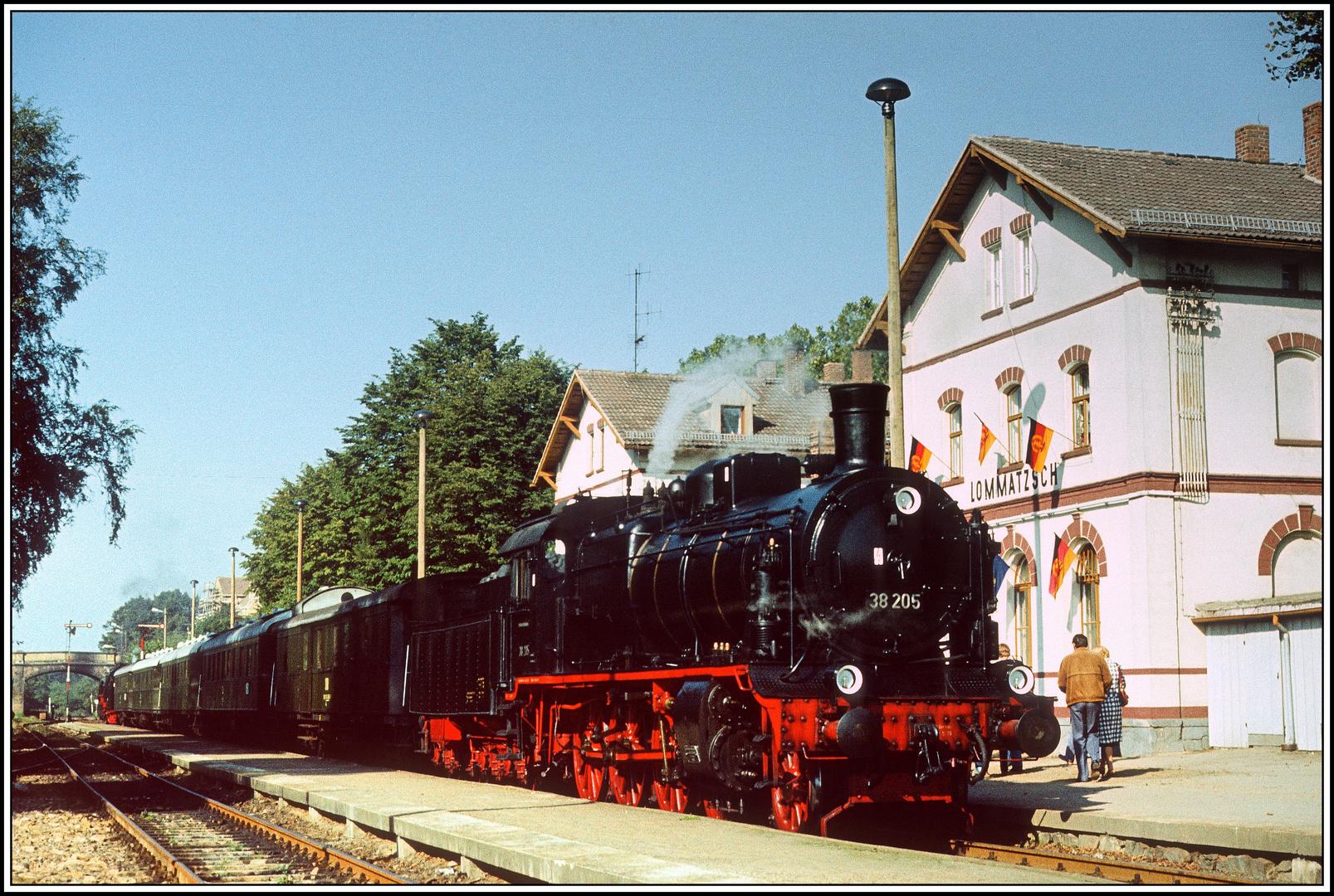 Eisenbahnfreunde und Sonderfahrten im Reichsbahnland - 3