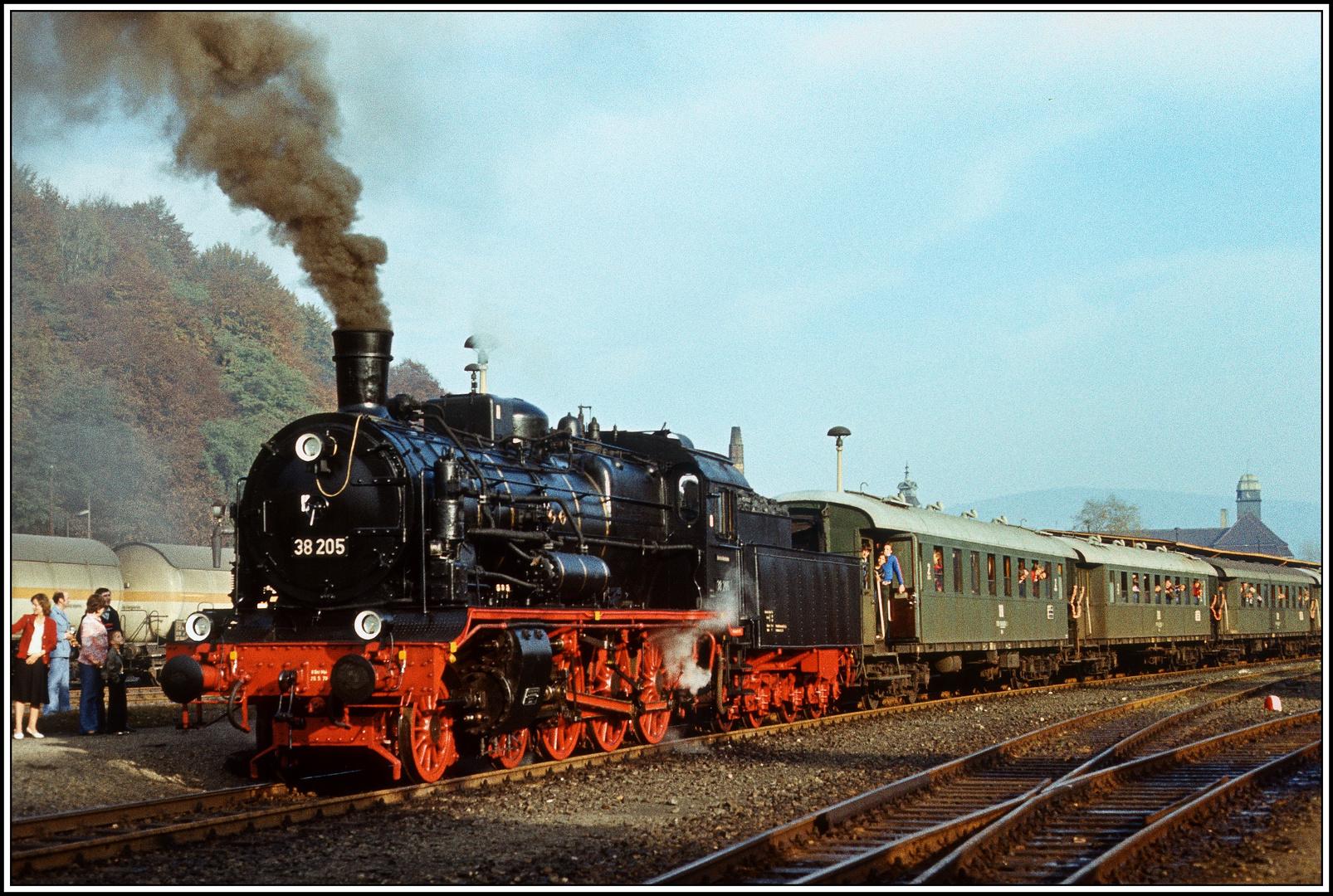 Eisenbahnfreunde und Sonderfahrten im Reichsbahnland - 4