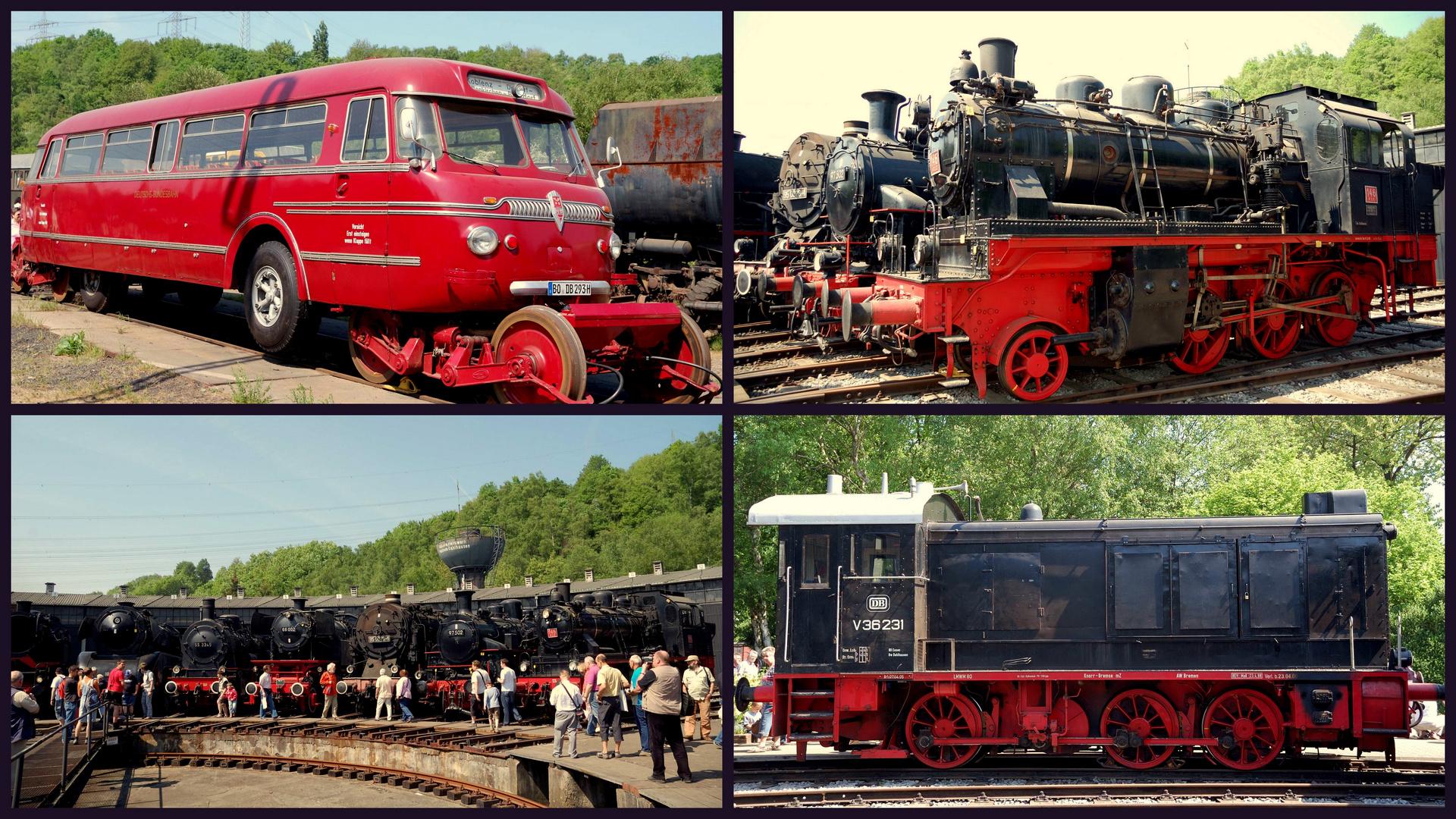 Eisenbahnmuseum Bochum-Dahlhausen der DGEG