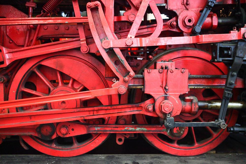Eisenbahnmuseum Bochum -Räderwerk-