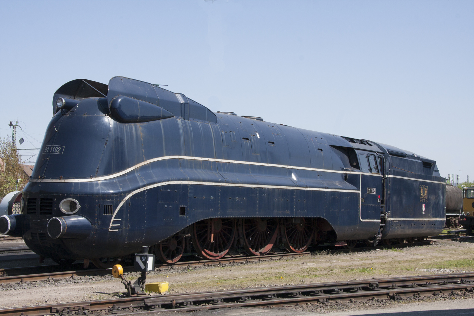 "Eisenbahnmuseum Heilbronn "" Blue Lady""2"