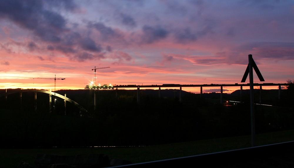 eisenbahnüberführungsbauwerk