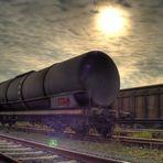 Eisenbahnwaggon HDR