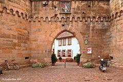Eisentor Freinsheim aus dem Jahre 1514 (Ort gehörte seit 1471 zur damaligen Kurpfalz)