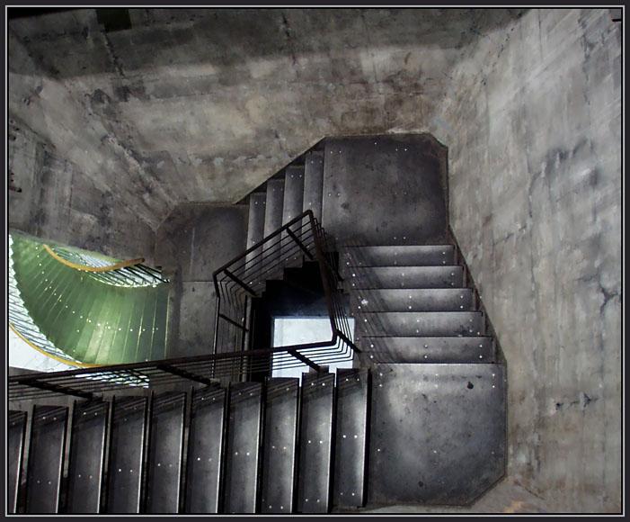 Eisentreppe