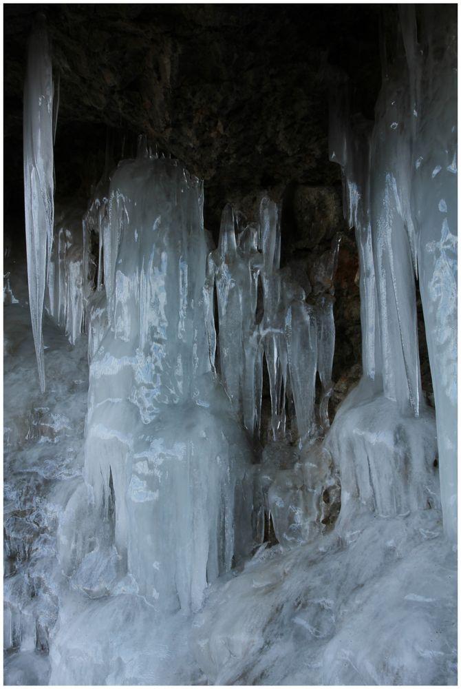 Eisfall, der Besondere