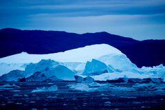 Eisgürtel vor Ilulissat