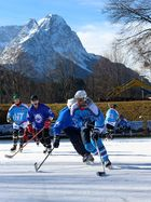 Eishockey im Freien
