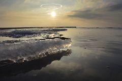 Eisig an der Ostsee