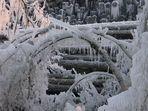 Eisige Kälte