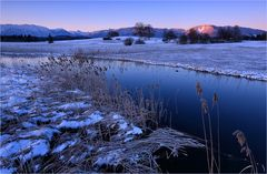 Eisige Morgenstimmung