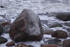 Eisige Ostsee
