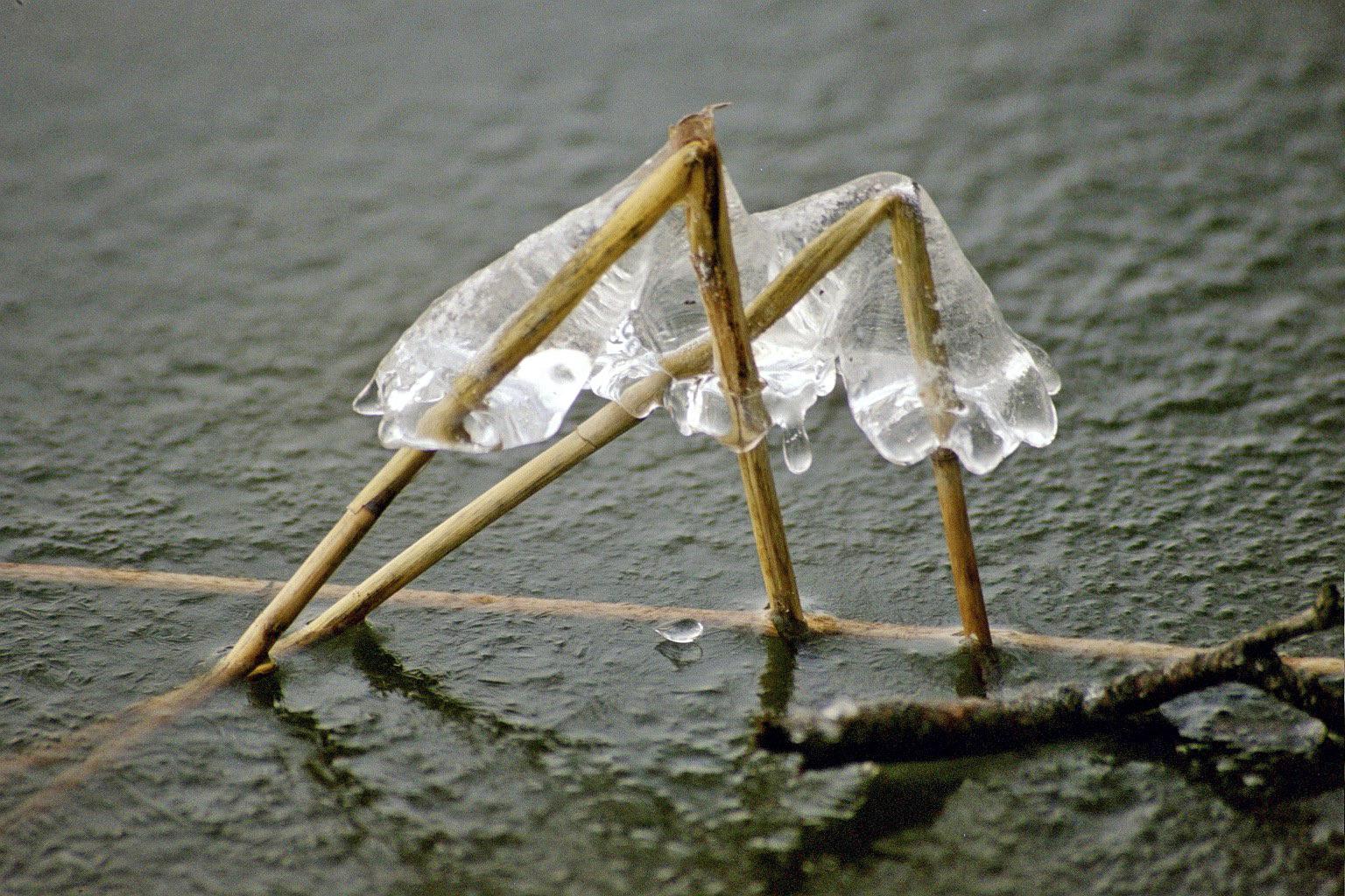 Eisige Pyramiden
