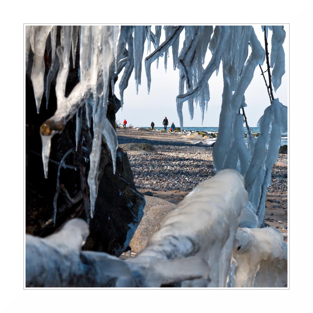 Eisiger Durchblick