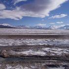 Eisiges Hochland zwischen Bolivien und Chile