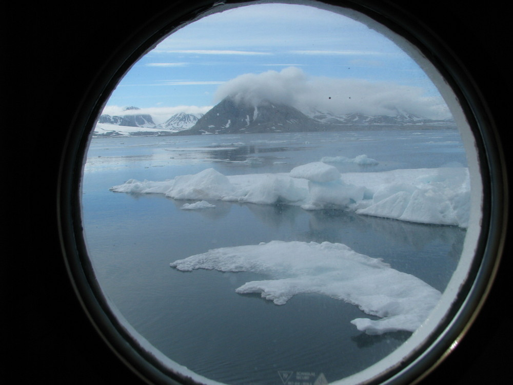 Eisiges Polarmeer