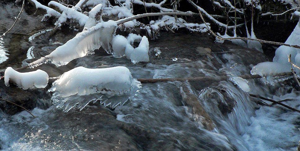 Eisimpressionen - Bad Urach -