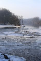Eiskalte Donau