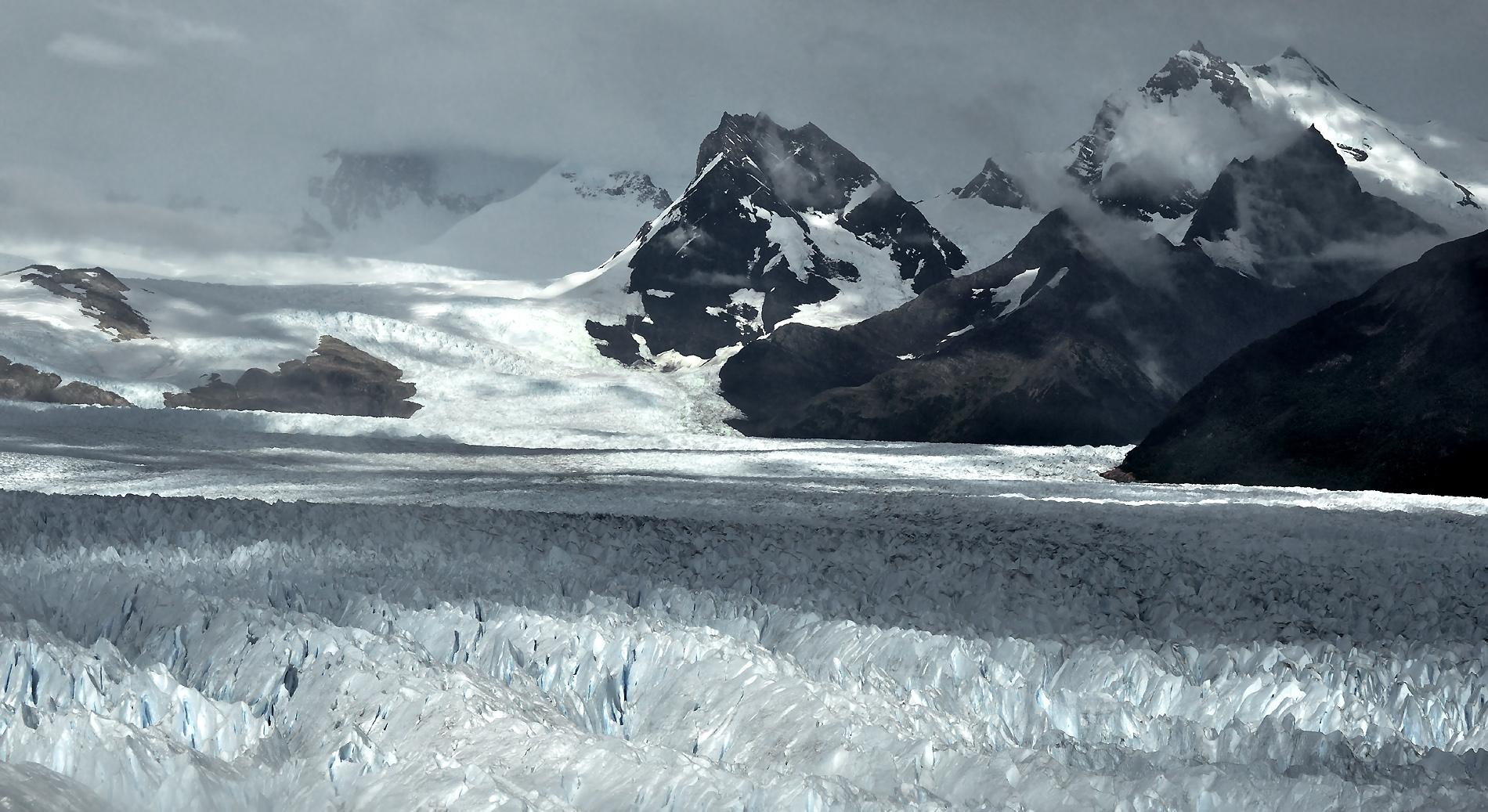 eiskalte Gletscherwelt