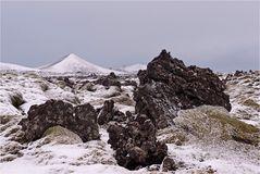 Eiskalte Lavafelder...