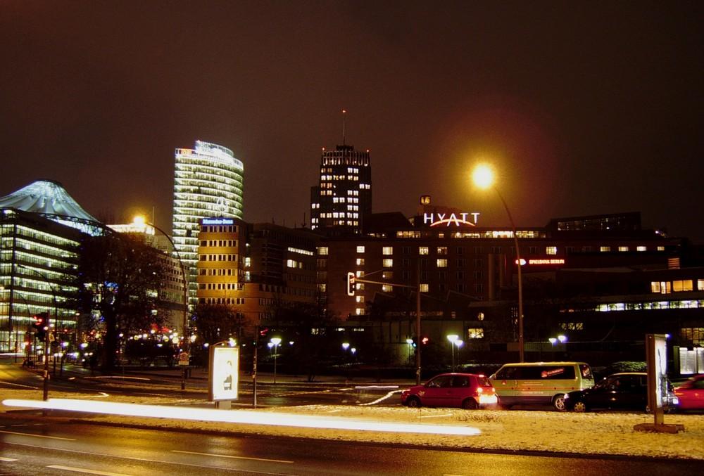 Eiskalte Nacht in Berlin