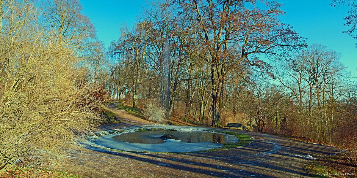 Eiskalter Park