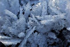 Eiskristall-Landschaft