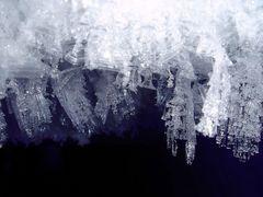 Eiskristalle auf 4.000m ...