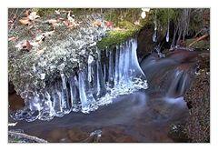 Eiskunstwerke der Natur
