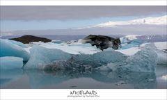 Eislandschaft Jökulsarlon