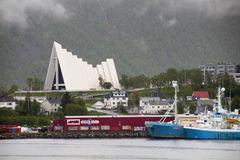 Eismeer-Kathedrale in Tromsø