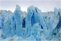 Eissäulen am Perito Moreno Gletscher