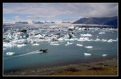 Eisschollen in Island