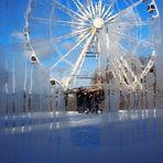 Eisspaß in der Stadt