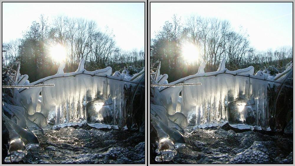 Eisvorhang 3D