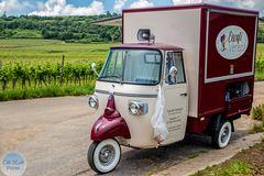 Eiswagen auf dem Weinwanderweg Grünstadt-Sausenheim