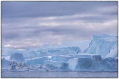 Eiswürfellandschaft