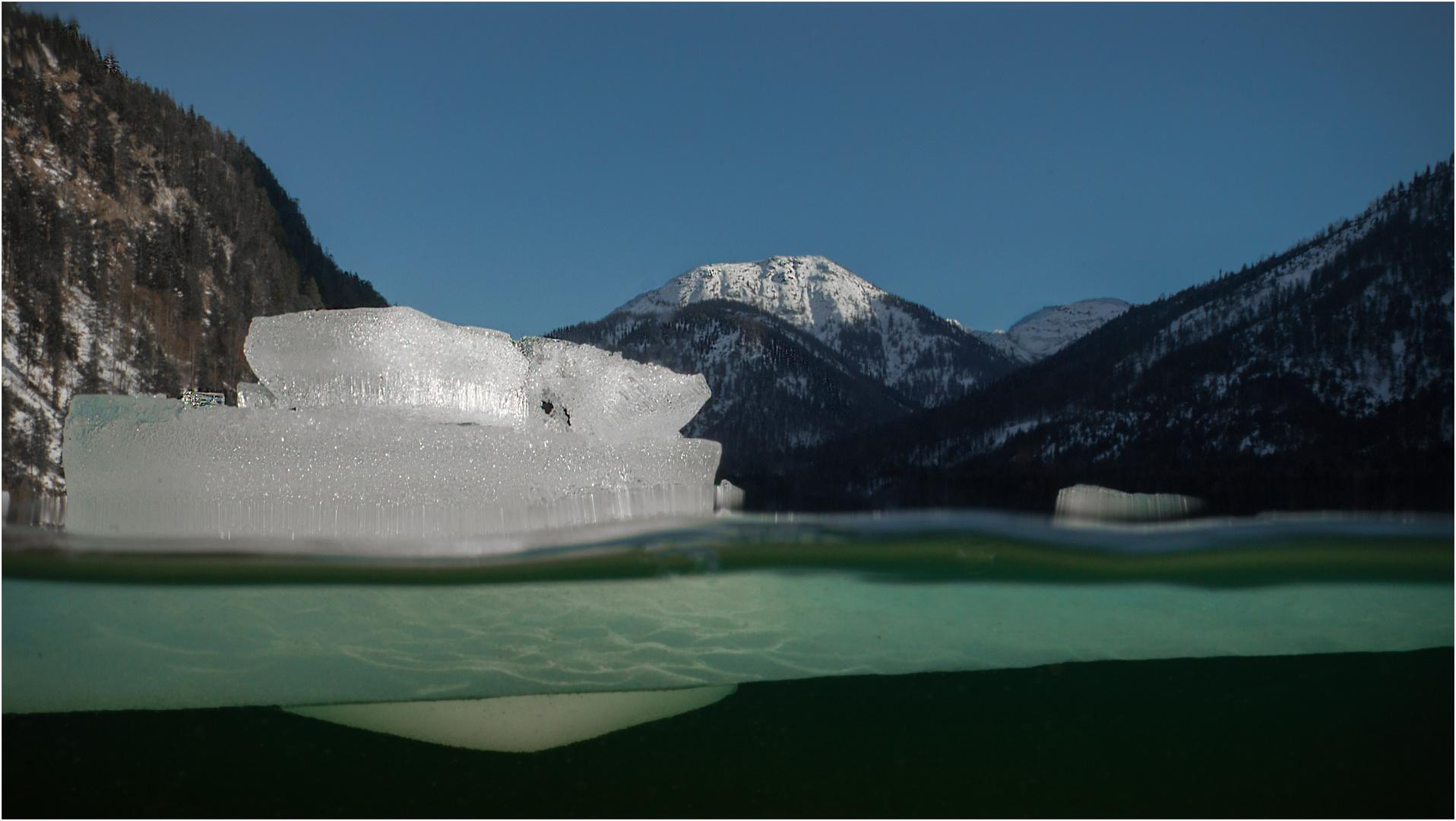 Eiszeit am Plansee