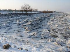 Eiszeit an der Elbe!