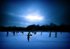 Eiszeit auf dem Weißen See